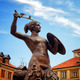 Siren Monument, Old Town in Warsaw, Poland - PhotoDune Item for Sale