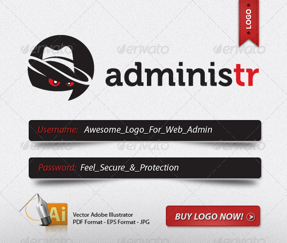 Graphic River SECURE ADMIN LOGO Logo Templates -  Humans 500338