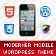 Moderner Mobile Retina | WordPress Version - ThemeForest Item for Sale