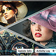 Triangle Image Display Facebook Timeline Cover - GraphicRiver Item for Sale