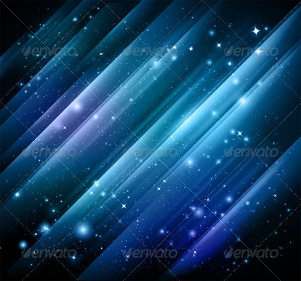 GraphicRiver Abstract lights blue background Vector & jpg 500426