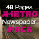 48 Pages Metro Newspaper Bundle  - GraphicRiver Item for Sale