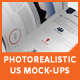 Photorealistic US Letter Brochure Mock-Ups - GraphicRiver Item for Sale