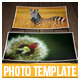3 Realistic Photo Frame Templates - GraphicRiver Item for Sale