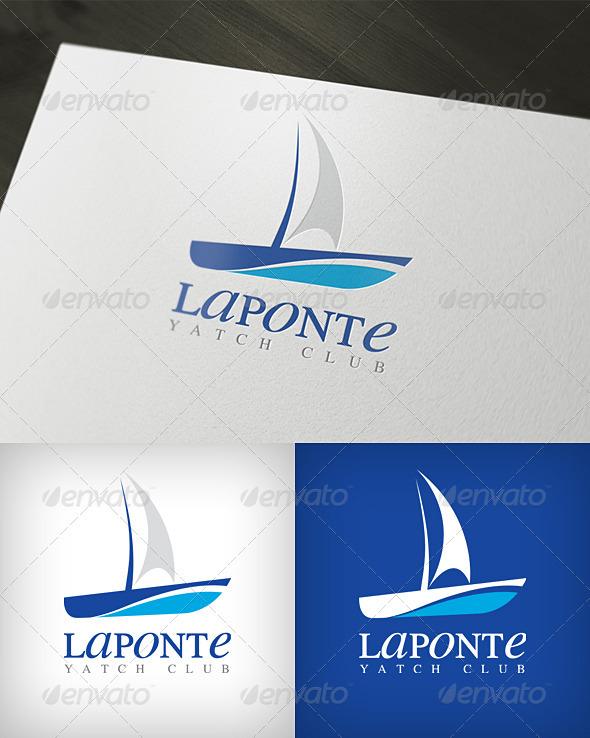 Graphic River Laponte Yatch Club Logo Logo Templates -  Objects 500796