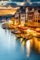 Grand Canal at night, Venice - PhotoDune Item for Sale