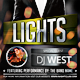 Lights - Flyer/Poster Template - GraphicRiver Item for Sale