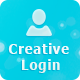 Creative Login - PSD - GraphicRiver Item for Sale