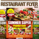 Restaurant Flyer Vol.6 - GraphicRiver Item for Sale