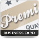 Premier Business Card - GraphicRiver Item for Sale