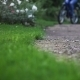 Riding a Bicycle in Rain Slow Motion - VideoHive Item for Sale