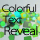 Colorful Text Reveal - VideoHive Item for Sale