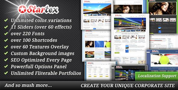 ThemeForest Startex WordPress Theme 459866
