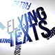 Flying Texts - VideoHive Item for Sale