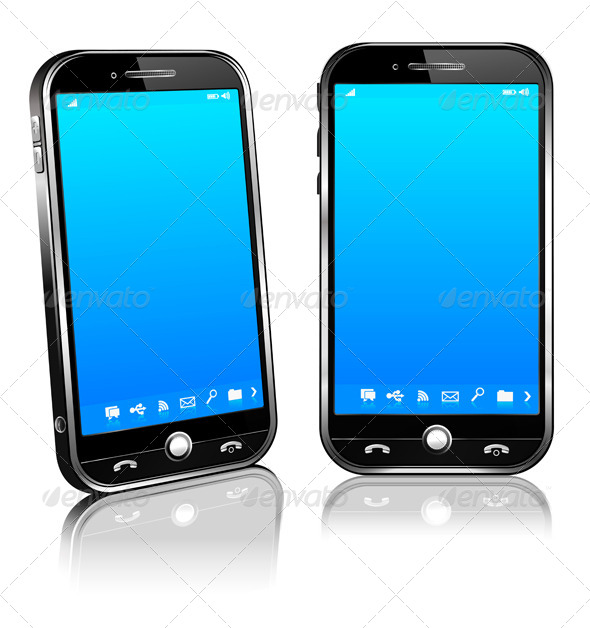 GraphicRiver Phone Cell Smart Mobile 3D and 2D 4803014