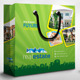 Real Estate Shopping Bag Packaging - GraphicRiver Item for Sale