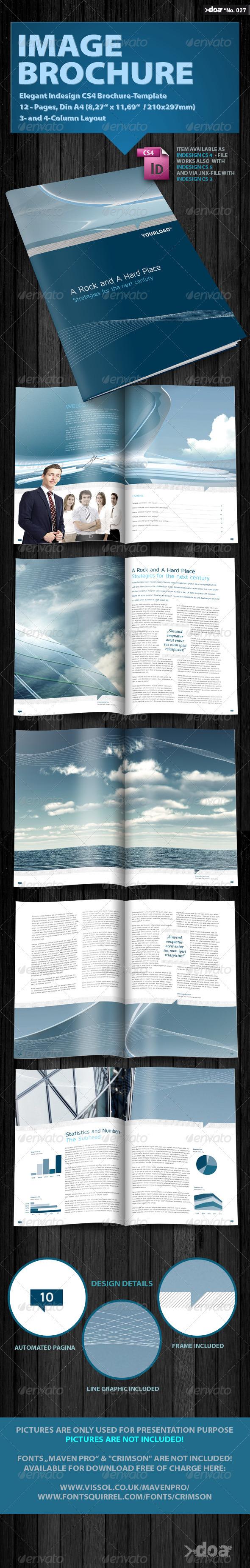 Graphic River Elegant Image Brochure Print Templates -  Brochures  Corporate 506117
