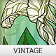 Vintage styled floral design - vector - GraphicRiver Item for Sale