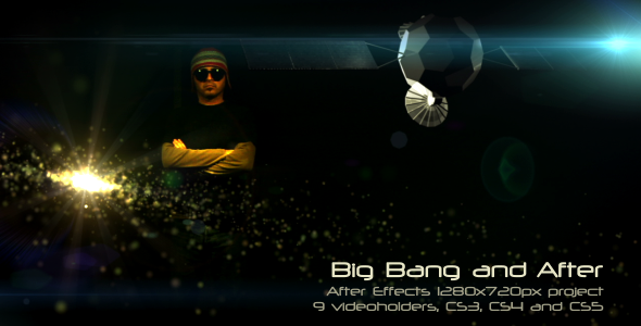 After Effects Project - VideoHive Big Bang and After 500999