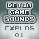 Retro Game Sounds Explosions 01