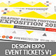 Design Expo Passes Templates V1 - GraphicRiver Item for Sale