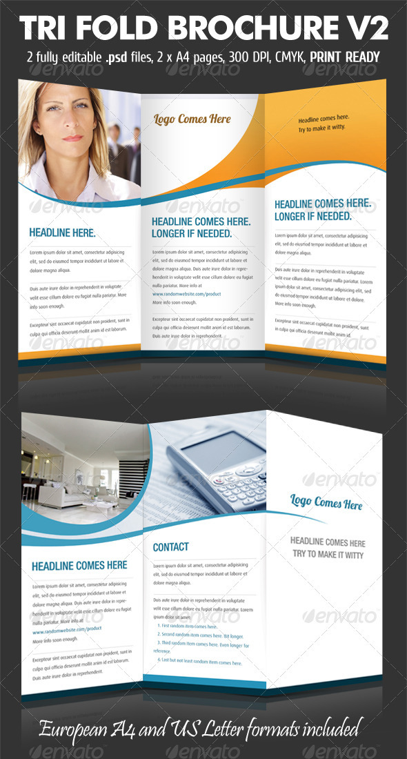 GraphicRiver TriFold Brochure V2 159700