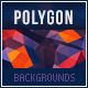 Polygon & Grunge Abstract Backgrounds - GraphicRiver Item for Sale