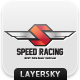 Speed Racing Logo - GraphicRiver Item for Sale