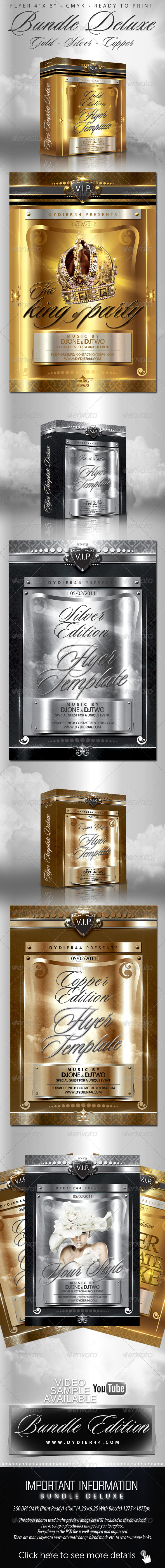 GraphicRiver Bundle Deluxe Flyer Template 4x6 507313