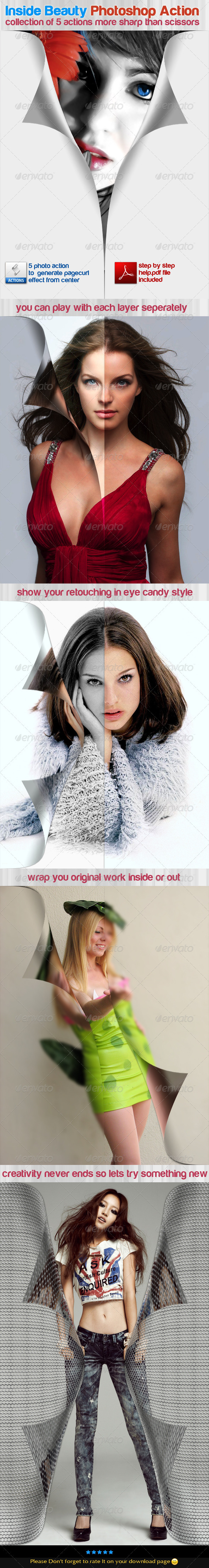 GraphicRiver Inside Beauty Photoshop Action 508014