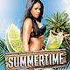 Summertime - Flyer/Poster Template - GraphicRiver Item for Sale