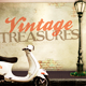 Vintage Treasures Flyer Template - GraphicRiver Item for Sale