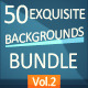 Exquisite Backgrounds - Bundle [Vol. 2] - GraphicRiver Item for Sale