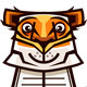 Tiger with Book - GraphicRiver Item for Sale