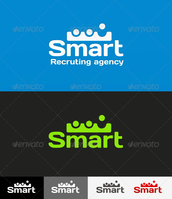 Graphic River Potentially Recruting Agency Logo Logo Templates - 501179