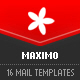 MAXIMO - 16 modular e-mail templates  - ThemeForest Item for Sale