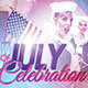 Fourth of July Celebration: Event Flyer Template - GraphicRiver Item for Sale