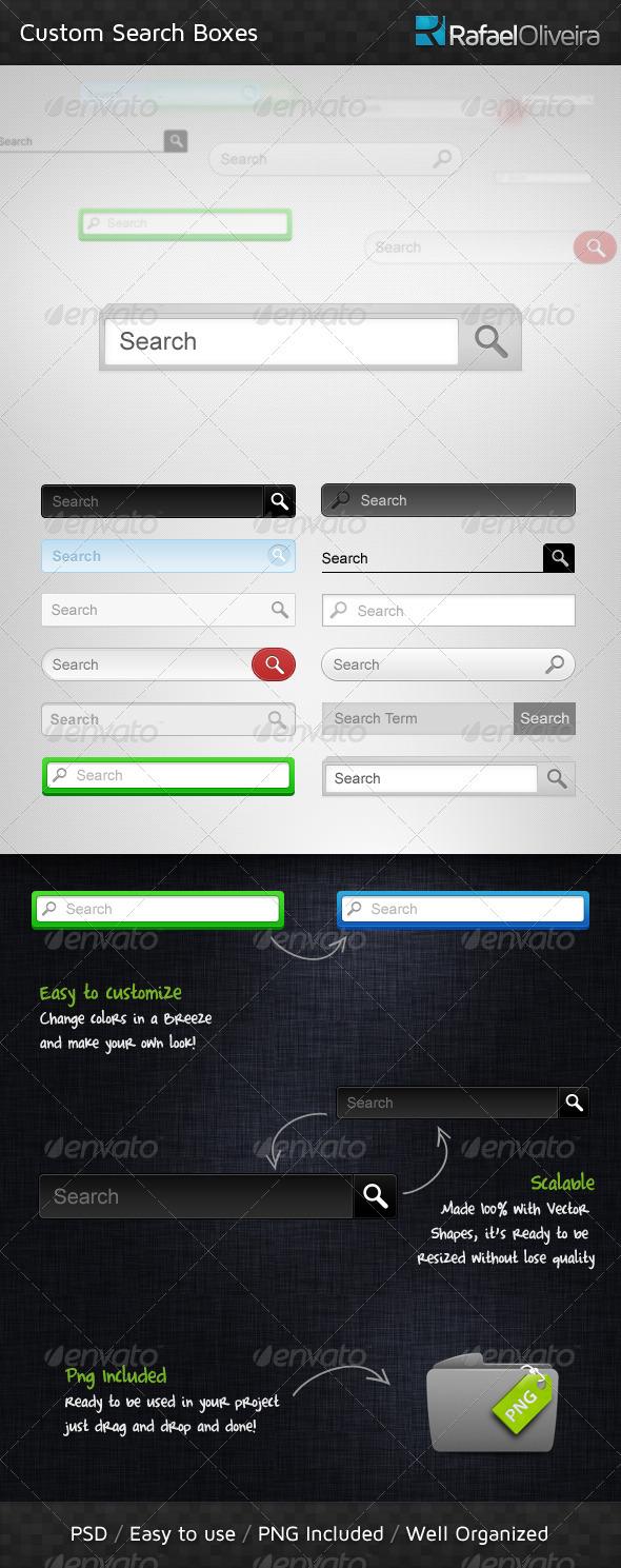 GraphicRiver Custom Search Boxes 186493