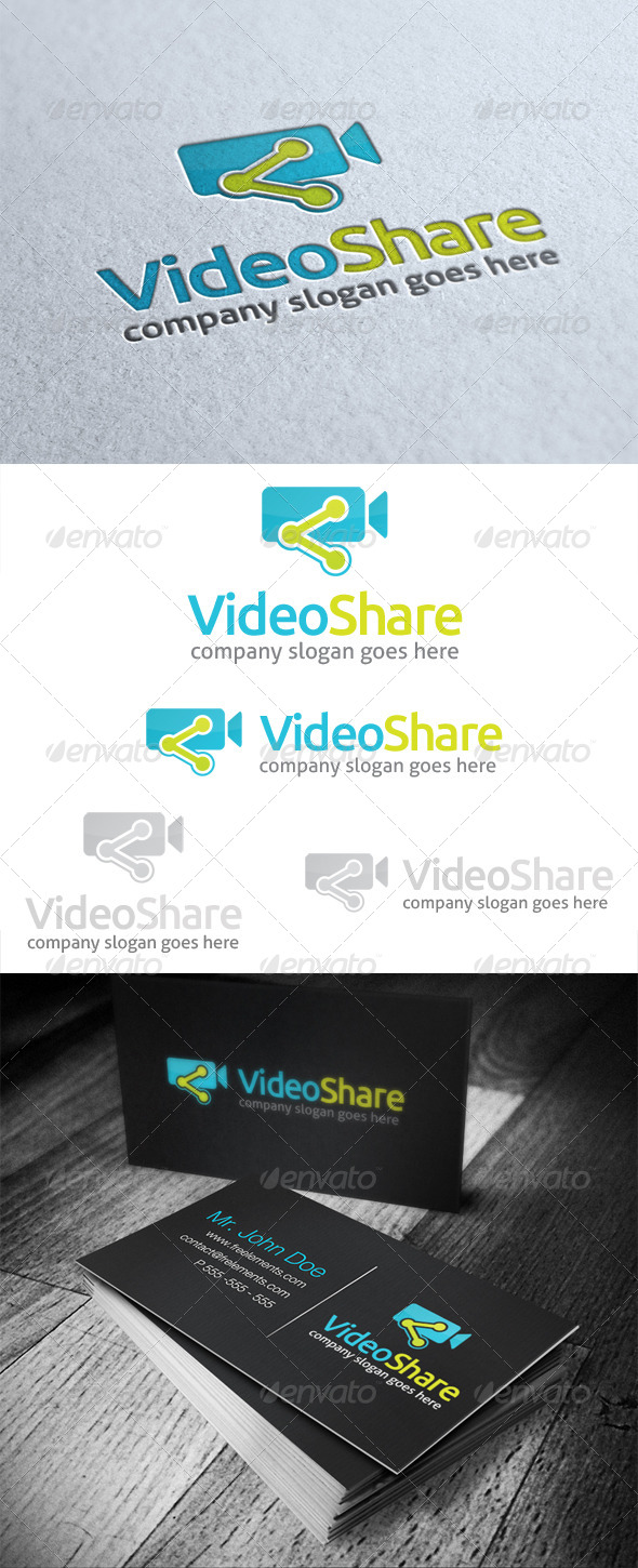 GraphicRiver Video Share Logo 4954654
