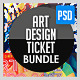 Design & Art Expo Show Passes/Tickets Bundle - GraphicRiver Item for Sale