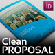Real Estate Corporate Clean Project Proposal - GraphicRiver Item for Sale