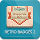 Retro Vintage Badges - Part 2 - GraphicRiver Item for Sale