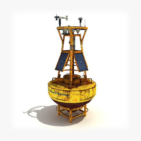 3DOcean Meteorological Buoy 4975383