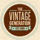 Trendy Vintage Vector Design Elements Set - GraphicRiver Item for Sale