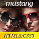 Mustang - Clean and Modern Website Template - ThemeForest Item for Sale