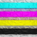 CMYK crumpled stripes - PhotoDune Item for Sale