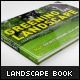A4 Landscape Book Mock-Up  - GraphicRiver Item for Sale