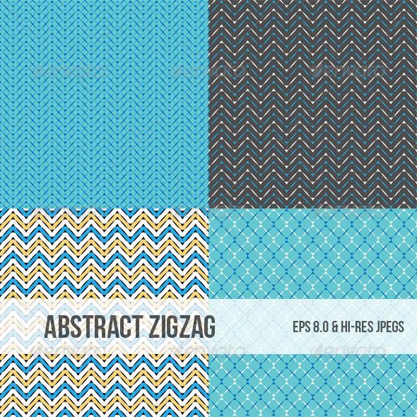 Contoh Gambar Dekoratif Zigzag Dondrup Com