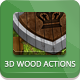 3D Wood Generator - Actions - GraphicRiver Item for Sale