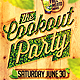 Cookout Party Flyer Template - GraphicRiver Item for Sale